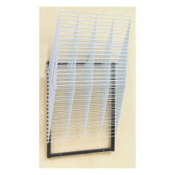 Compact Wall Rack, 20 Shelves