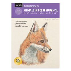 Drawing: Animals in Colored Pencil, Book Cover