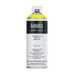 Liquitex Professional Spray Paint - Fluorescent Yellow, 400 ml can
