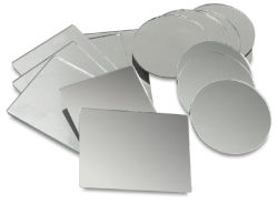 Glass Craft Mirrors - Rectangle Mirrors, 3'' x 4'', Pkg of 10