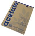 Grafix Clear Acetate - 9'' x 12'' x .005'', Pad, 25 Sheets