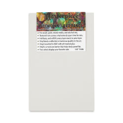 Masterpiece Alcohol Ink Art Panels - 4'' x 6'', Pkg of 3