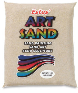Colored Sand - 2 lb, Beige