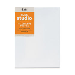 "Blick Studio Stretched Cotton Canvas - 6"" x 8"", 3/4"" Traditional Profile"