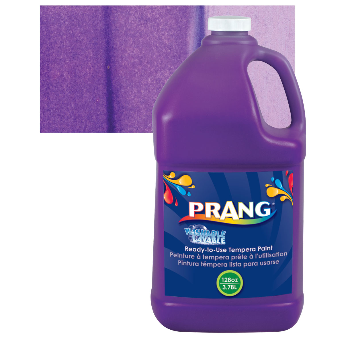Prang Ready-To-Use Washable Tempera Paint - Violet, Gallon