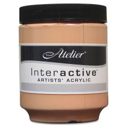Chroma Atelier Interactive Artists' Acrylics - Naples Yellow Reddish, 250 ml jar