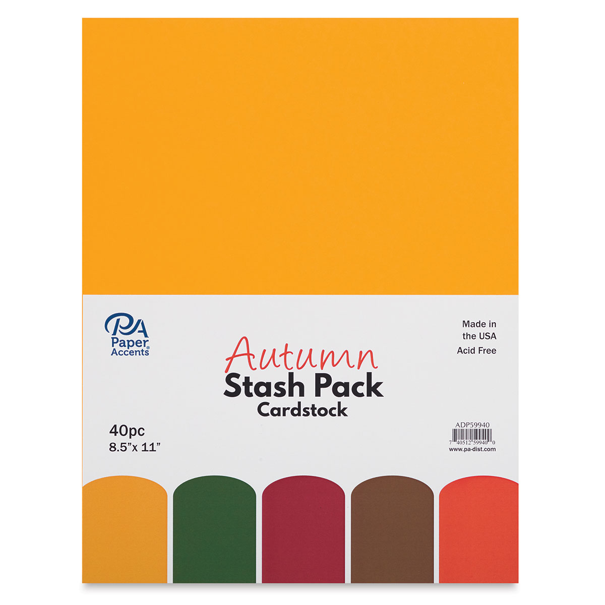 12 x 12 Paper Accents Cardstock 65 lb Chambray Stash Builder