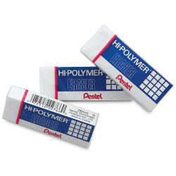 Hi-Polymer Erasers, Pkg of 3 Small