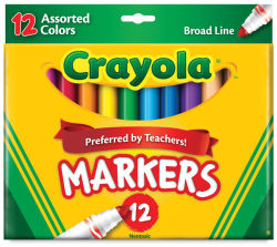 Set of 12 Markers