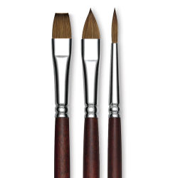 Princeton Siberia Series 7000 Natural Kolinsky Sable Brushes