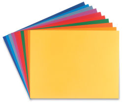 Canson Assorted Color Pack - 19'' x 25'', Bright, Pkg of 10
