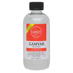 Gamblin Gamvar Gloss Varnish - 8.5 oz bottle