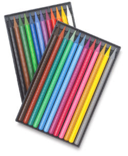 Woodless Colored Pencils, Set of 24