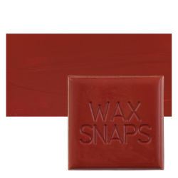 Enkaustikos Wax Snaps Encaustic Paints - Sanguine, 40 ml, Cake with Swatch
