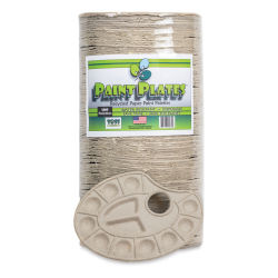 Toss Paint Plates Disposable Palettes - Pkg of 100