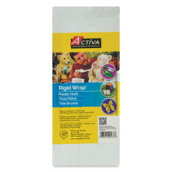Activa Rigid-Wrap Plaster Cloth - Pack, 12'' x 16 Yards