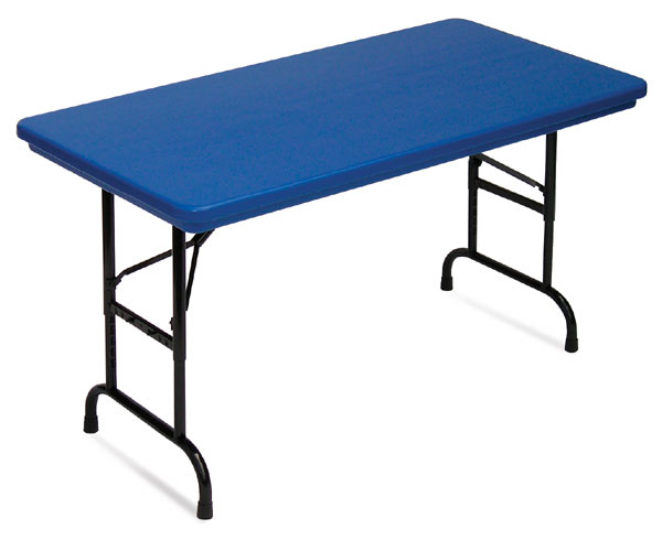 Correll Plastic Resin Folding Tables