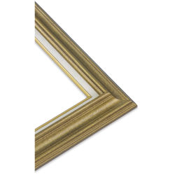 Blick Traditional Wood Frame - 8'' x 10'' x 3/8'', Light Antique Gold Finish