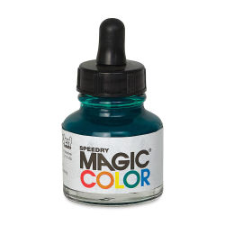 Magic Color Liquid Acrylic Ink - 28 ml, Gamma Green