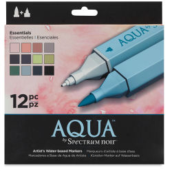 Spectrum Aqua Markers - Essential Colors, Set of 12