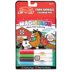 Melissa & Doug On the Go Magicolor Coloring Pad - Farm Animals (In packaging)