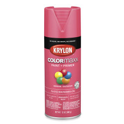 Krylon Colormaxx Spray Paint - Watermelon, Gloss, 12 oz