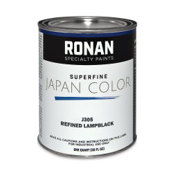 Ronan Superfine Japan Color - Refined Lamp Black, Quart