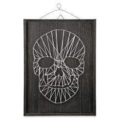 String Art Skull Decor