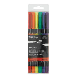 Brea Reese Dual Tip Brush Pens - Classic Colors, Set of 6