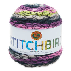 Lion Brand Stitchbird Yarn Cake - Purple Martin