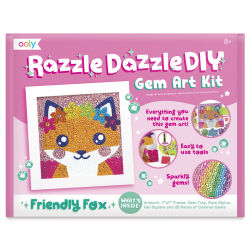 Ooly Razzle Dazzle DIY Gem Art Kit - Fox