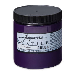 Jacquard Textile Color - Violet, 8 oz jar