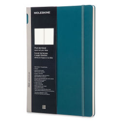 Moleskine Pro Collection - Pro Workbook, Hardcover, Green, Blank, 11-3/4'' x 8-1/4''