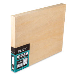 Blick Studio Artists' Wood Panels - Gallery Cradle, 14'' x 18'', 1-1/2'' Cradle