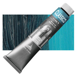 Maimeri Classico Oil Color - Phthalo Blue Green, 200 ml tube
