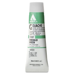 Holbein Acryla Gouache - Emerald Green, 20 ml tube