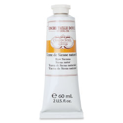 Charbonnel Etching Ink - Raw Sienna, 60 ml