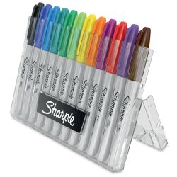 Sharpie Fine Point Markers - Hero Pack Original Colors, Set of 12