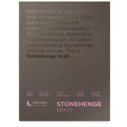 Stonehenge Kraft Drawing Paper - 9'' x 12'', 15 Sheets