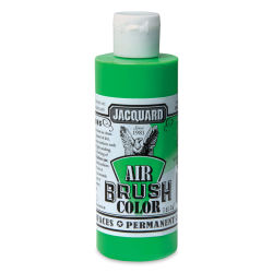 Jacquard Airbrush Paint - 4 oz, Fluorescent Green
