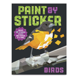 Paint By Sticker Birds, Book Cover