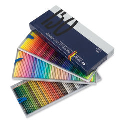 Holbein Artists' Colored Pencils - Assorted Tones, Set of 150, Cardboard Box