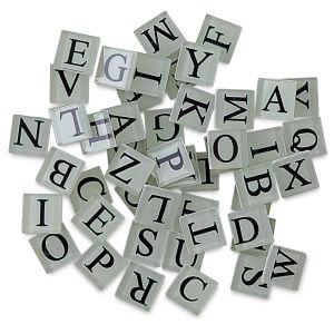 Letter Tile Assortment