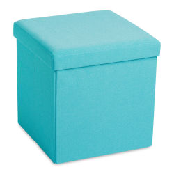 Poppin Box Bench - Aqua