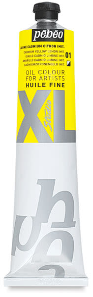 Pebeo XL Studio Oil Color - Cadmium Lemon Yellow Imitation, 200 ml Tube