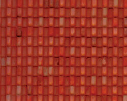 Plastruct Patterned Sheets, Spanish Tile, 1:48 Scale