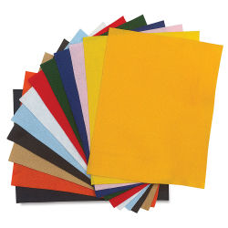 Acrylic Felt, 12-Piece Package
