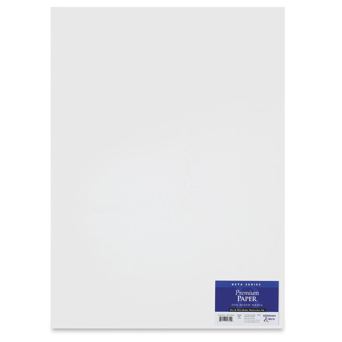 25 Heavyweight 180lb Natural White Stillman /& Birn Zeta Wirebound Sketchbook