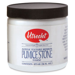 Utrecht Pumice Stone Gel Medium - Pint Jar