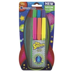 Scented Markers, Neon, Set of 6